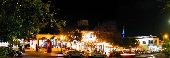 Parnell Village by Night